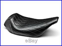 Le Pera LH-005DM Bare Bones Diamond Low Profile Solo Seat Harley FLHT FLTR 02-07