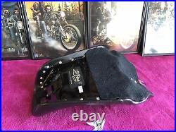 Le Pera LK-001 Bare Bones Solo Seat BARE BONES 2006-17 DYNA Harley Front