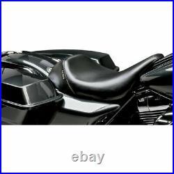 Le Pera LK-005 Bare Bones Smooth Low Profile Solo Seat Harley FLH/T 08-18