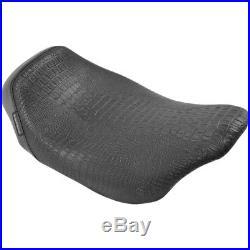 Le Pera LK-005CR BLK Bare Bones Low Profile Solo Seat Harley FLH/T 08-17