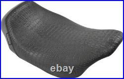 Le Pera LK-005CR BLK Bare Bones Low Profile Solo Seat Harley FLH/T 08-17 Black