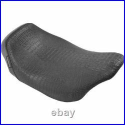 Le Pera LK-005CRBLK Bare Bones Solo Seat Croc
