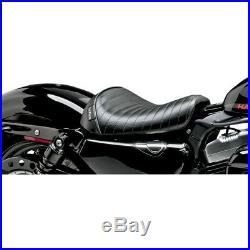 Le Pera LK-006 PT Pleated Stitch Bare Bones Solo Driver Seat Harley XL1200X/V