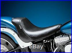 Le Pera LK-007 Bare Bones Solo Seat, Vinyl Harley-Davidson Softail Night Tra