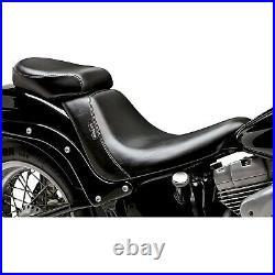Le Pera LK-007PDX Bare Bones Deluxe Passenger Seat Harley Softail Night Trai