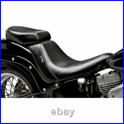 Le Pera LK-007PDX Bare Bones Pillion Pad Rear Seat Harley 06-16 FXST FLSTF 07-17