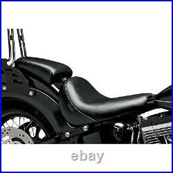 Le Pera LKS-007P Bare Bones Solo Seat Pillion Pad, Smooth Vinyl Harley Black