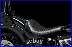 Le Pera LKS-007PT Bare Bones Solo Seat Pleated Black 05-07 Victory Hammer