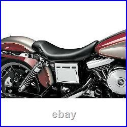 Le Pera LN-001 Bare Bones Solo Seat, Vinyl Harley Dyna Convertible FXDS-CONV
