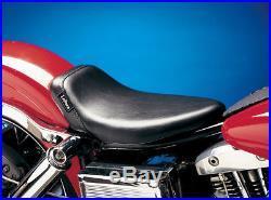 Le Pera LN-002 Smooth Black Bare Bones Solo Seat Harley Big Twin FX FL 64-84
