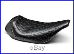 Le Pera LN-005DM Bare Bones Diamond Low Profile Solo Seat Harley FLHT FLTR 97-01