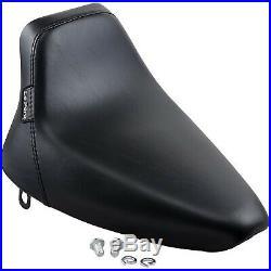 Le Pera LN-007 Bare Bones Solo Seat, Vinyl Harley Softail Custom FXSTC, Softa