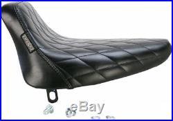 Le Pera LN-007DM Bare Bones Solo Seat Diamond Stitch
