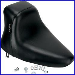 Le Pera LN-007DM Black Up Front Bare Bones Solo Seat 84-99 Softail FXST FLST