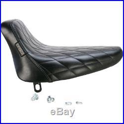 Le Pera LN-007DM Diamond Stitch Bare Bones Solo Seat 84-99 Softail FXST FLST