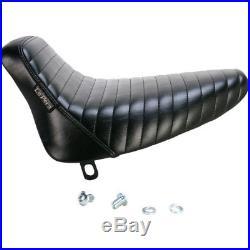 Le Pera LN-007DM Pleated Stitch Bare Bones Solo Seat 84-99 Softail FXST FLST