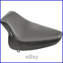 Le Pera LX-007 Bare Bones Solo Seat, Vinyl Harley Softail Springer Classic E