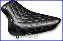 Le Pera LX-007DM Bare Bones Solo Seat Diamond Stitch