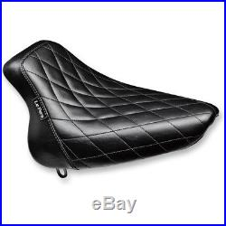 Le Pera LX-007DM Diamond Stitch Bare Bones Solo Seat 00-05 FXST 00-07 FLST/N
