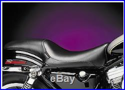 Le Pera LX-007PLRS Bare Bones Solo Seat Pillion Pad, Leather