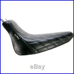Le Pera LXE-007 DM Diamond Bare Bones Solo Seat 08-17 Harley FLST FLSTC Softail