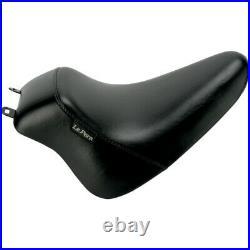 Le Pera LXEU-007 Black Up Front Bare Bones Solo Seat 08-17 Harley FLST/C Softail