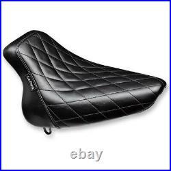 Le Pera LYO-007DM Bare Bones Diamond Stitch Solo Seats
