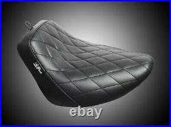 Le Pera LYO-007DM Bare Bones Solo Seat Diamond Stitch 18-20 FLFB/FLFBS Fat Boy