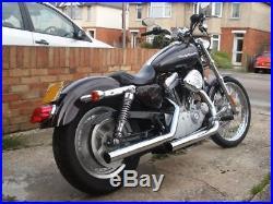 Le Pera LePera Bare Bones Sleek Solo Seat Harley Sportster XL 883 1200 4.5 Tank