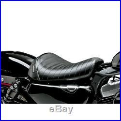 Le Pera Pleated Bare Bones Solo Seat 2010-19 Harley 48/72 Sportster XL1200X/V