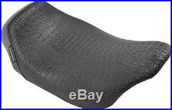Le Pera Seat Bare Bones Croc Blk Lk-005cr Blk
