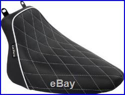 Le Pera Seat Bare Bones Solo White Harley Lxe-007 Dm Wtp 0802-0911
