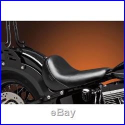 Le Pera Smooth Bare Bones Solo Seat for 2016-17 Harley Softail Slim FLS