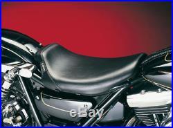 LePera Le Pera Barebones Bare Bones Solo Smooth Low Profile Seat Harley FXR L00