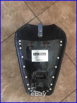 Lepera bare bones solo seat harley sportster le pera silhouette 883 1200 82-03