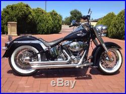New Le Pera LePera Bare Bones Barebones Solo Seat Harley Softail LX007 2000-2007