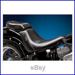 Sella By Le Pera (bare Bones)biker Gelblack For Harley Davidson Softail 07/17