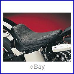 Sella By Le Pera (bare Bones)foambasket Weaveblack For H-d Softail Dal 84/99