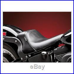 Sella Le Pera In Pelle Bare Bones Harley Davidson Softail Fxst / Flst 84 99