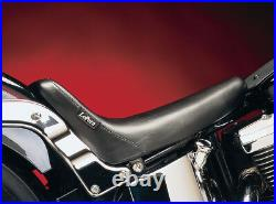 Sella Le Pera In Pelle Bare Bones Harley Softail Fxst 00 05 Flst/n 00 07