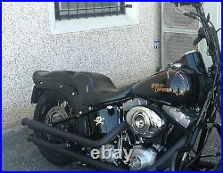Sella Le Pera Lku-007 Bare Bones Harley Softail 06-17 Ruota 200 Crossbones