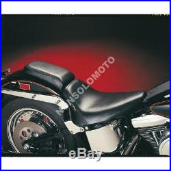 Sella Pilota Le Pera Harley Davidson Bare Bones Smooth Solo With Biker Gel Bl