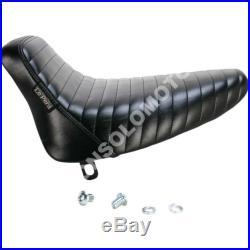 Sella Seats Le Pera Bare Bones Pleated solo seat Harley D. FXST/FLST