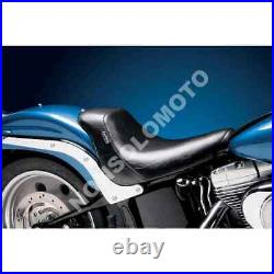 Sella Seats Le Pera Bare Bones Smooth solo seat Harley D. FXST 06-10 FLSTF/B
