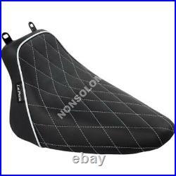Sella Seats Le Pera Bare Bones Solo Seat Diamond White Stitching And Piping B