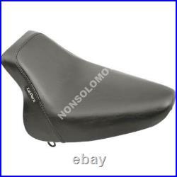 Sella Seats Pilota Le Pera Bare Bones Solo Seat Smooth Black Harley Davidson